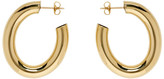 Laura Lombardi Gold Mini Curve Earrings