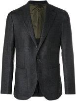 Caruso gingham blazer - men - Cupro/Cashmere/Wool/Bemberg - 50