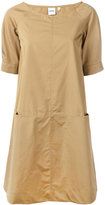 Aspesi panelled shift dress - women - Cotton - 42
