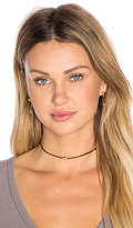 Shashi Ballerina Choker in Brown.