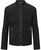 Hugo Boss Jonate Slim Fit Biker Jacket, Black