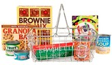Melissa & Doug Grocery Basket - Pretend Play Toy With Heavy Gauge Steel Construction