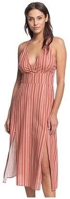 Roxy Young Goddess (Bruschetta Beta Stripe) Women's Dress
