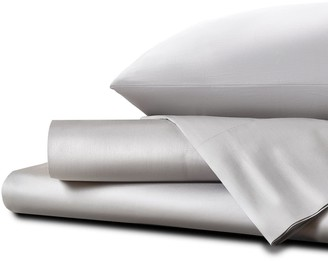 Homestead UK Single Ultra Soft Sateen Sheet Set - Glacier Gray