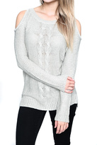 RD Style Cold Shoulder Sweater