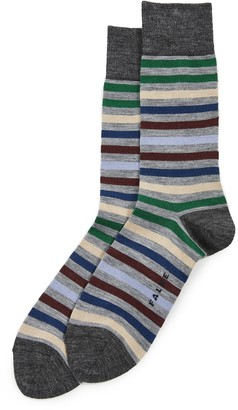 Falke Tinted Stripe Crew Socks