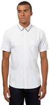 Red Herring White Dobby Shirt