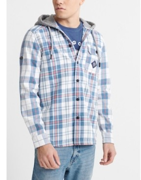 Superdry Men's Denim Goods Hooded Shirt