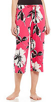 Hue HUEtopia Angel Flower Capri Sleep Pants