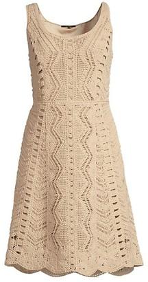 Kobi Halperin Sasha Cotton Crochet Dress