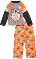 Orange & Black BB-8 Pajama Set - Boys