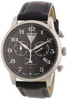 Junkers Men's Quartz Watch Dessau 1926 Flatline 63802 with Leather Strap