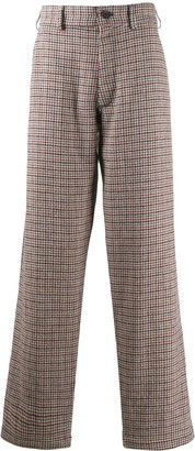 Comme des Garçons Shirt Hounds-Tooth Tweed Trousers