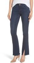 Wit & Wisdom Women's Itty Bitty Split Hem Bootcut Jeans