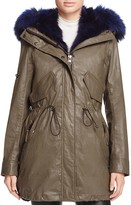 SAM. Luxe Limelight Fur Lined Coat