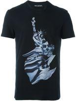 Neil Barrett statue print T-shirt
