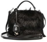 Mark Cross Laura Baby Leather & Calf Hair Camera Bag