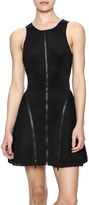 Ark & Co Zipper Mesh Scuba Dress
