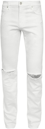 7 For All Mankind Paxton Distressed Skinny Jeans