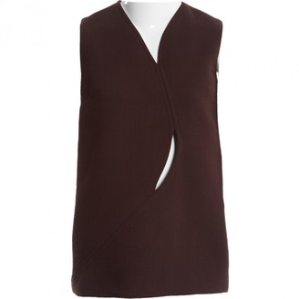 Christian Dior Brown Wool Top for Women