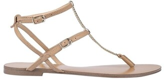 Siren Serra II Lighy Tan Leather Sandal