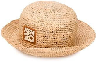 Kenzo Logo Patch Sun Hat