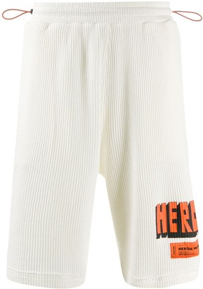 Heron Preston Textured Track Shorts