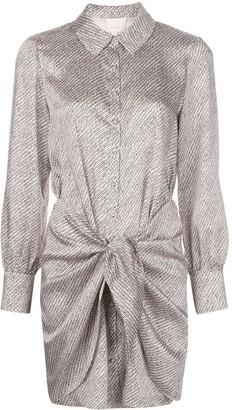 Cinq à Sept Gaby patterned shirt dress