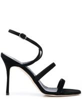 Manolo Blahnik open-toe strapped sandals