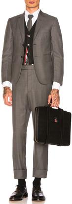 Thom Browne Classic Wool Suit in Medium Grey | FWRD