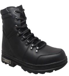 """AdTec Men's 6"""" Reflective Biker Boot Men's Shoes"""