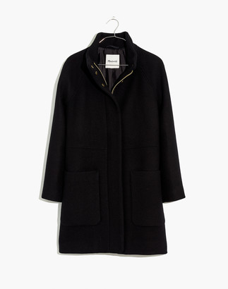 Madewell Estate Cocoon Coat in Insuluxe Fabric