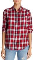 DL1961 Plaid Button Front Shirt