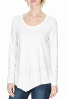 Lilla P 3/4 Sleeve Scoop Neck Tee