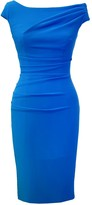 BRIGITTE Mellaris Dress Marina Blue Crepe