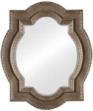 "James Martin Vanities Castilian 35"" Double Arch Mirror, Empire Gray"