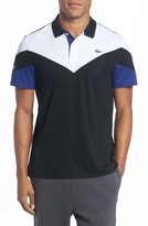 Lacoste Men's Ultra Dry Chevron Polo