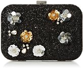 Dorothy Perkins Women's Glitter Flower Sequin Clutch