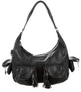 Sonia Rykiel Pebbled Leather Hobo