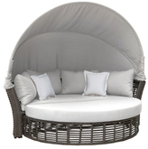 Panama Jack Graphite Canopy Daybed