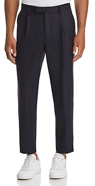 Moncler Cropped Tailored Fit Wool Pants