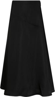 Jil Sander A-line mid-length skirt