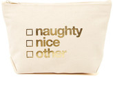 Dogeared Naughty, Nice, Other Zip Pouch