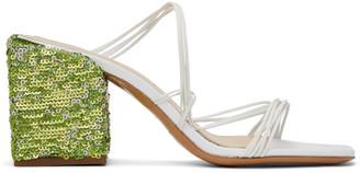 Jacquemus White Les Mules Estello Sandals