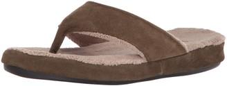 Acorn Women's Suede Spa Thong Slipper