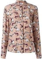 MSGM cat print shirt