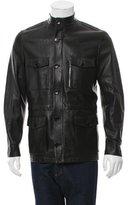 Loewe Leather Safari Jacket w/ Tags