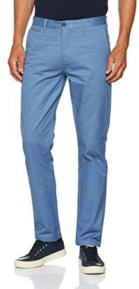Dockers Clean Khaki Marina Slim Tapered-Stretch Twill Trouser, (Sunset Blue 0015), W33/L34