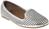 Silver Perforated Flat