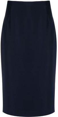 Alexander McQueen Skinny-Fit Pencil Skirt
